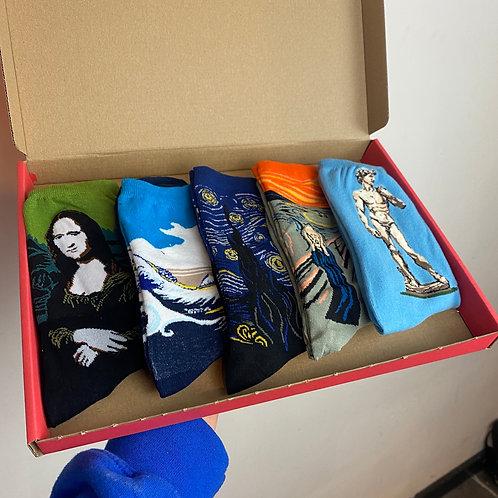 Renaissance Socks Box