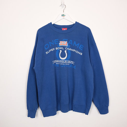 07 Colts Super Bowl Champs Sweater (XL)