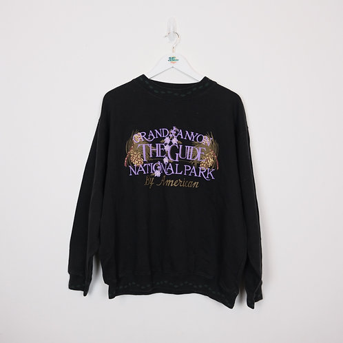 Vintage Graphic Sweater (L)