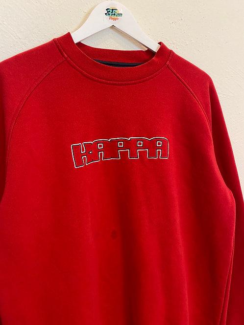 Red Kappa jumper (L)
