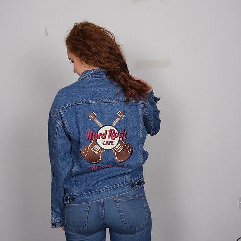 HardRock Cafe Denim Jacket (M)