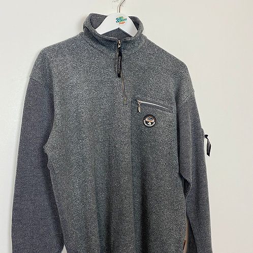 Grey 1/4 Zip Napapijri (L)