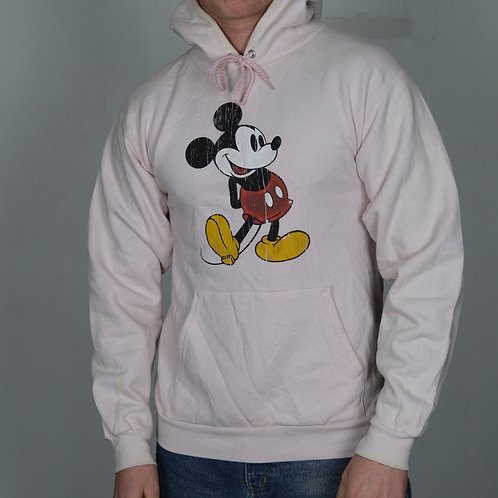 Vintage Mickey Mouse Hoodie (S)