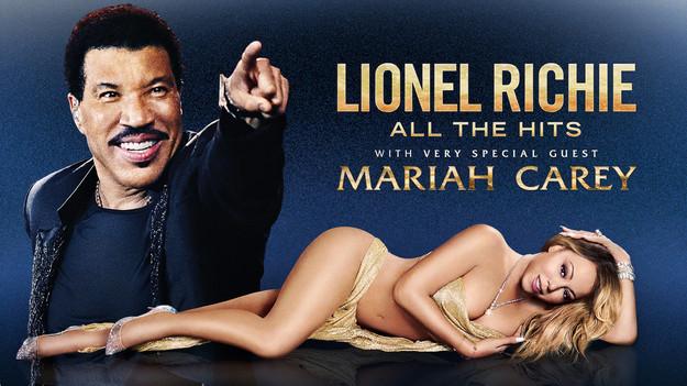 Loinel  Richie & Mariah Carey: All the Hits Tour
