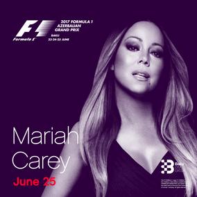 Mariah Carey F1 Baku