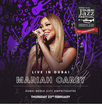 Mariah Carey Live In Dubai