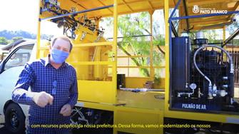 Máquinas e Equipamentos para a Prefeitura de Pato Branco