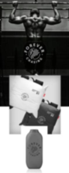 Forever Chasing Logo Sport Brand design