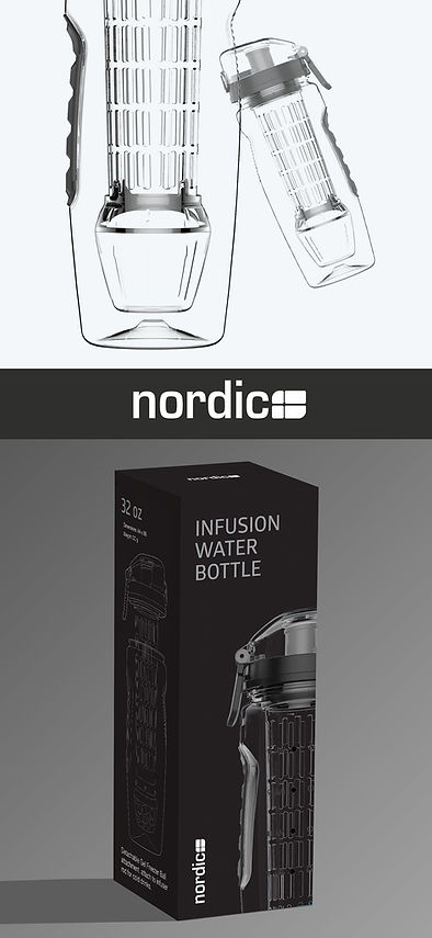 nordic infuser water box