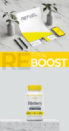 Refuel logo brand creation