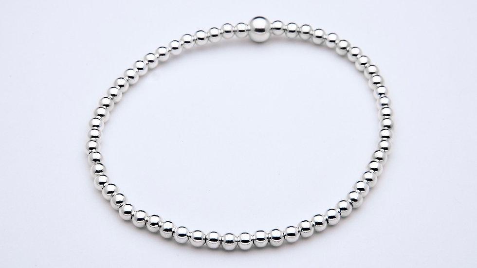 3mm Sterling Silver Stacking Bracelet