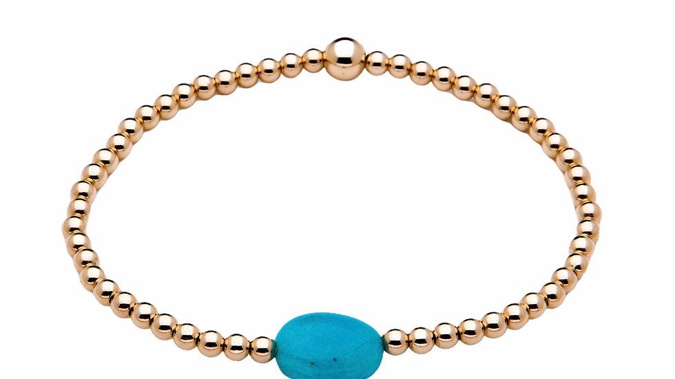 Amazonite Gemstone Bracelet