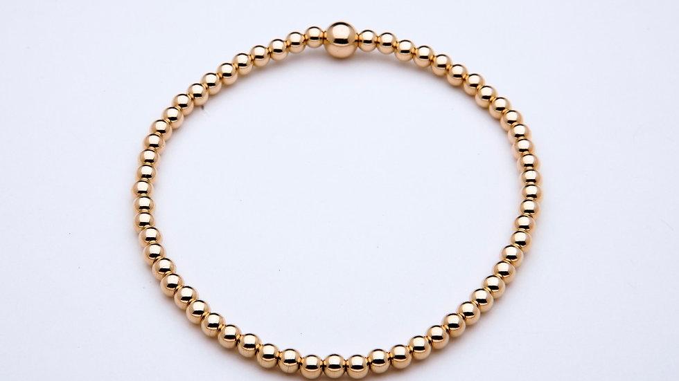 3mm Gold Filled Stacking Bracelet