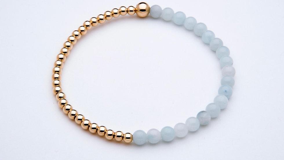 Chinese Amazonite Gemstone Bracelet