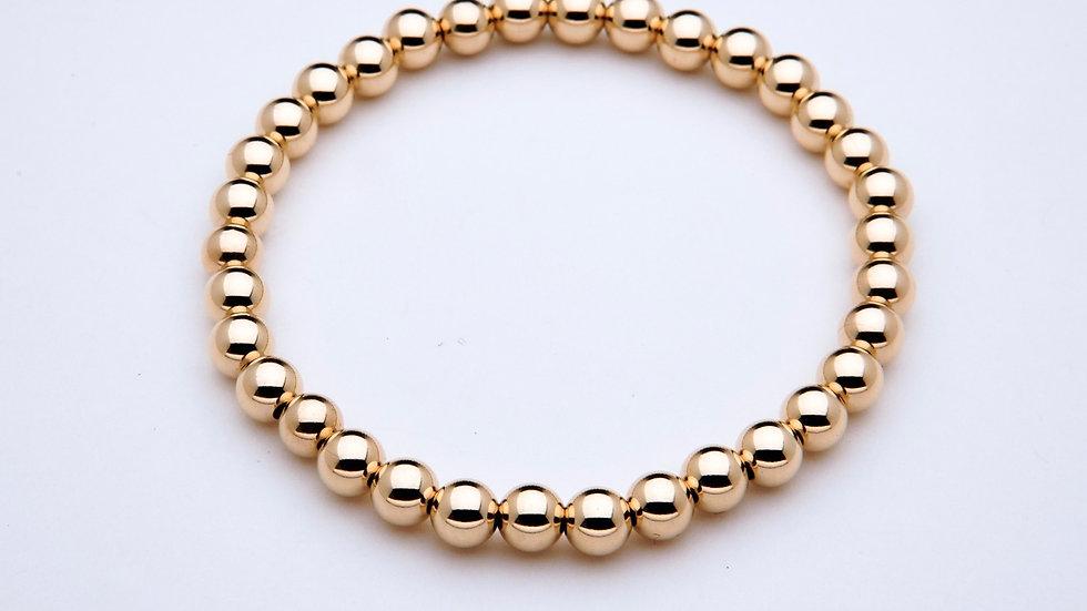 5mm Gold Filled Stacking Bracelet