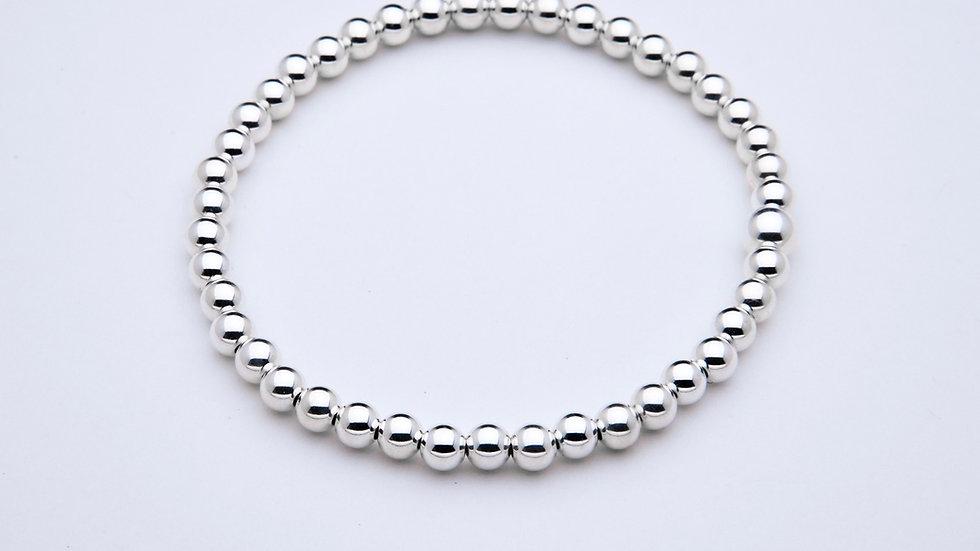 4mm Sterling Silver Stacking Bracelet