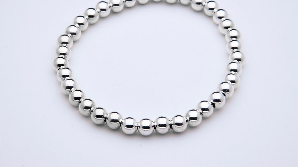 5mm Sterling Silver Stacking Bracelet