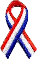 Red White and Blue Ribbon