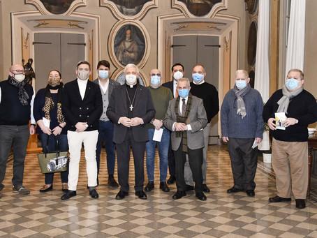 L'Unione Artigiani incontra il Vescovo in occasione della Festività di San Bassiano