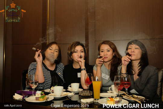 First Power Cigar Lunch at the Firehouse Bar of the JW Marriott Hotel