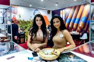 Ladies at DAVTIAN booth