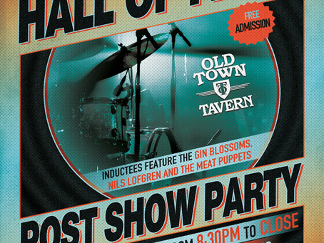 Music Hall of Fame Post Show Party