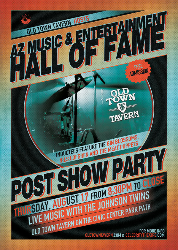 Music Hall Of Fame Post Show Party Great Bar Scottsdale