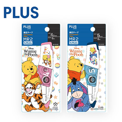 PLUS Whiper MR2 Correction Tape Winnie The Pooh WH645-PTG PEY