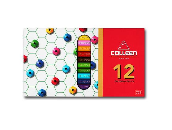 Colleen 775 Coloured Pencil Hexagon 12 Colours COL 775-12