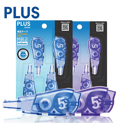 PLUS Whiper MR2 Correction Tape 4P Refills 4 In 1 WH645R/4P