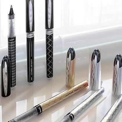 Uni Vision Elite Roller Pen With Gift Box 0.8mm -Black ink UB200DG