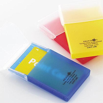 Lihit Lab Aqua Drops Card Case A-5001