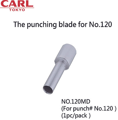 CARL Punching Blade For No.120 P-120MD