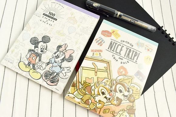 Sun-star Disney A6 Memo Pad in Booklet