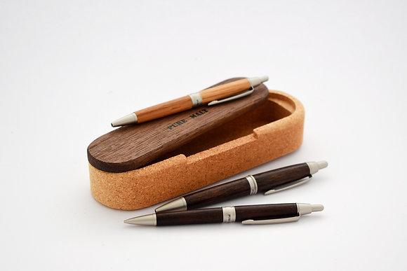 Uni Pure Malt GIft Set (1pc Roller Pen + 1pc Mechanical Pencil) SS-M5 1015G 1025