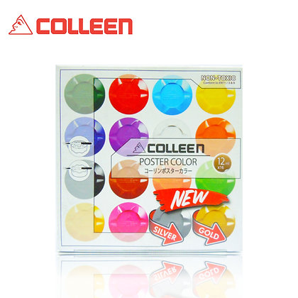 Colleen Poster Color 16pcs/set 12ml POS11293
