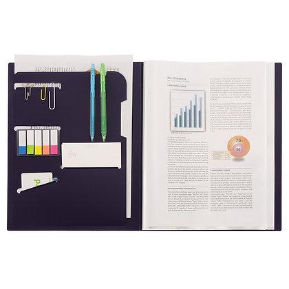 Lihit Lab Smart Fit  2 Way Pocket Clear Book A4 N-7510