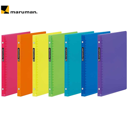 Maruman Binder Septcouleur A5 Plastic Binder F083