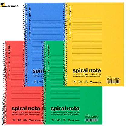 Maruman Spiral A5 Notebook N651M
