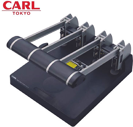 CARL 4-Hole Heavy Duty Punch 124N