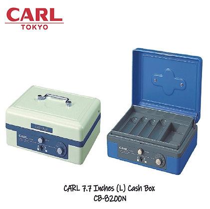 CARL Cash Box 7.7 Inch (L) Key Lock W/ Password Dial CB-8200