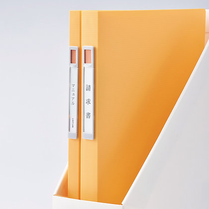 Lihit Lab Noie-Style Clear Book A4 (20 pockets)