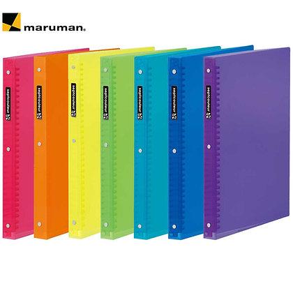 Maruman Binder Sept Couler A4 Plastic Binder F582B