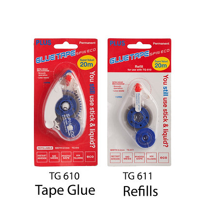 PLUS Spin ECO Glue Tape Refill TG611