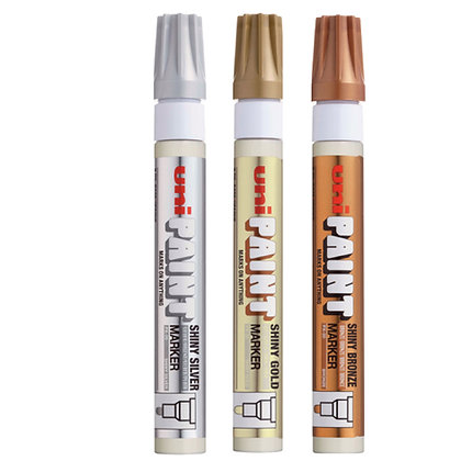 Uni Paint Marker Shiny Series PX 20-S (3 IN 1 Pack)