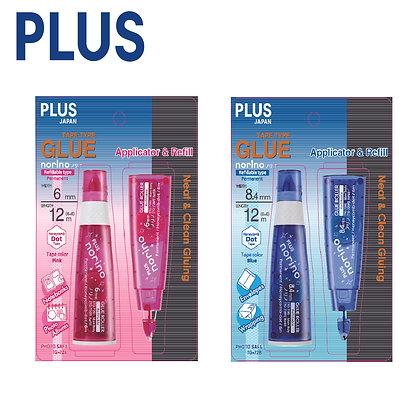 PLUS Norino Tape Glue Applicator + Refill TG726N-11 TG728N-11