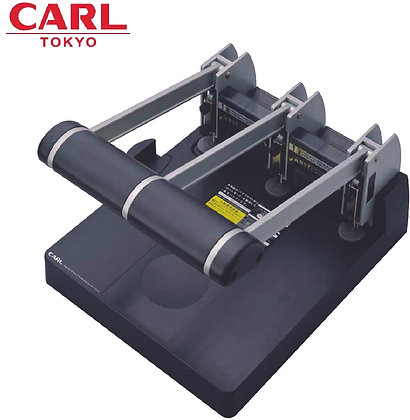 CARL 3-Hole Heavy Duty Punch (150 sheets) 123N