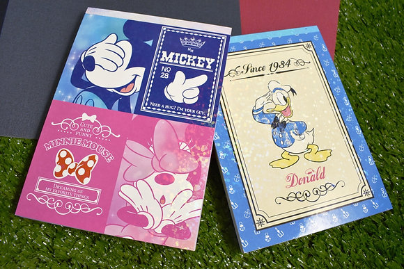 Sun-star Disney A6 Memo Pad S2802155 S2802163
