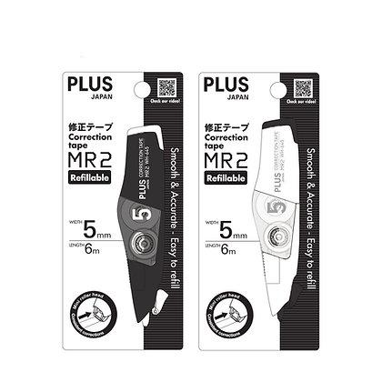 PLUS Whiper MR2 Correction Tape Black & White Series WH645-MB MW