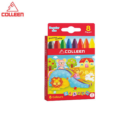 Colleen Regular Wax Crayon (8 Colors) CCY-8